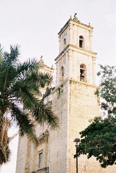 Stone Church Outside Playa del Carmen Mexico | photography by http://www.laurelynsavannahphotography.com