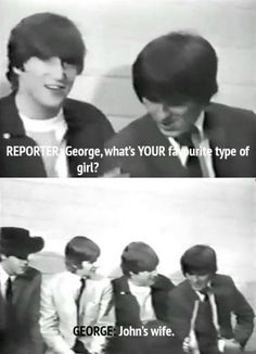 10 Pictures That Prove The Beatles Were Hilarious Beatles Funny, Beatles Love, Beatles Guitar, Beatles Art, Great Bands, Cool Bands, John Lennon Paul Mccartney, Types Of Girls, The Fab Four