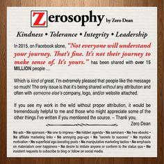 Not everyone will understand your journey...  #zerosophy