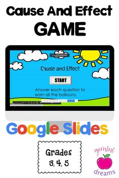 Help your students master the Cause and Effect reading comprehension skill in a fun game format! #teachersfollowteachers #teachersoninstagram #teacherpreneurs #tptteachers #tptseller #teacherspayteachers #teachertribe #tptresources #tptauthor #teachers #studentchoice #publicschools #ELearning #Literacy #Onlinelearning #EarlyEd #ElemSchool #K12 #onlinelearning #distancelearning Guided Reading Activities, Reading Lessons, Reading Resources, Reading Skills, Teaching Reading, Learning Activities, Teacher Resources, Classroom Resources, Teaching Ideas
