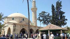 Larnaka Müslümanlarından Hala Sultan'a ziyaretçi akını