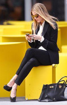 Olivia Palermo #chic #style