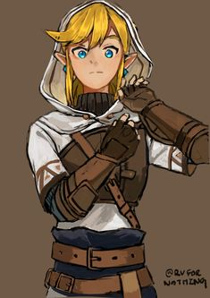 Link from Legend of Zelda Breath of the Wild The Legend Of Zelda, Legend Of Zelda Breath, Link Zelda, Character Concept, Character Art, Character Design, Twilight Princess, Link Art, Link Fan Art