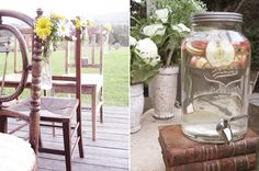 rustic vintage country wedding Jane & Scotts Intimate Hunter Valley Country Wedding #vintagerusticweddings #vintagecountryweddings #weddingdecor