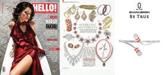 Check out this cool article Diamond Classic Palm cuffs by @GhanasinghBeTrue, featured in @hellomag .