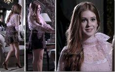 moda da novela amor à vida - nicole capítulo 28 de maio de 2013