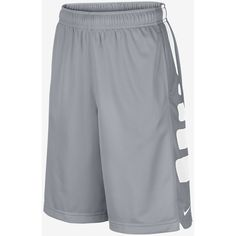 Nike Elite Stripe Boys' Basketball Shorts ❤ liked on Polyvore featuring bottoms and shorts