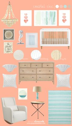Project Bambino » Coastal Chic Nursery Design