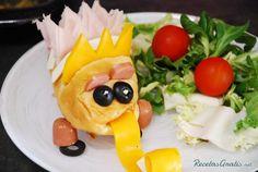 Sándwich para niños - Monstruo#RecetasparaNiños #CocinaDivertida #CocinaCreativa #CocinaparaNiños