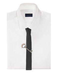 lanvin key brooch men