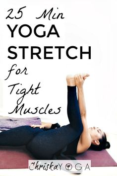This is a 25 minute yoga stretch for tight muscles! We'll be softening the joints and stretching the muscles to help promote mobility and gain flexibility.