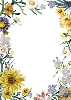 Sunflowers Background, Flower Background Wallpaper, Flower Backgrounds, Wallpaper Backgrounds, Wedding Invitation Vector, Invitation Cards, Rose Frame, Flower Frame, Flower Graphic Design