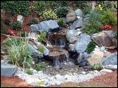 Pondless Waterfall | Pondless Waterfalls | Photo Gallery | Premium Aquascapes | New Milford, NJ