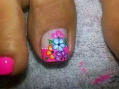 Pies Toe Nail Art, Toe Nails, New Nail Art Design, Toe Nail Designs, Spring Nails, Erika, Veronica, Projects To Try, Mary