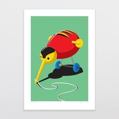 Glenn Jones has an ever increasing range of bright, fun designs inspired by pop culture and kiwiana. We love how he produces topical, funny and beautiful images which reflect life in this. Buzzy Bee, Fine Art Prints, Framed Prints, Cloud Art, Kiwiana, Tea Art, Art Studies, New Zealand, Art Projects