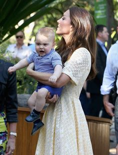 I WANT TO TOUCH THE BILBY!   The Official Ranking Of Prince George's Best Facial Expressions