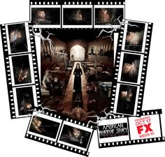 """American Horror Story: Asylum"" by ian-giw ❤ liked on Polyvore"