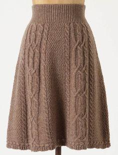 knit skirt - Anthropologie