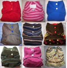 MamaBear Custom One Size Wool Diaper Cover/Soaker/Wrap #MamaBearBabyWear