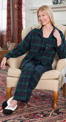 Shop our womens flannel pajama set made from our premium heavy Portuguese  flannel. This flannel plaid PJs includes soft cami b07888bda