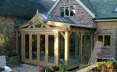 Bungalow Extensions, Garden Room Extensions, Interior Design Guide, Studio Interior, Garden Rooms Uk, Oak Framed Extensions, Riverside Cottage, Conservatory Roof, House Extension Design