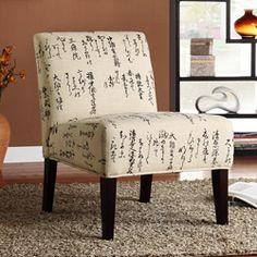 Japanese script chair