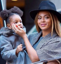 Beyoncé, Jay Z & Blue Ivy in NYC (Dec. 7th, 2014)