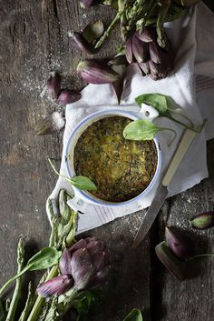 Green Spring Vegetable Soup with Ligurian Pesto | Hortus Natural Cooking