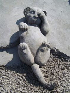 Les incroyables sculptures de sable de Paul & Remy Hoggard : Cabel Kawan