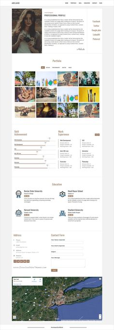 Vitae Resume, CV \ Portfolio Personal WordPress Theme with Shop - wordpress resume theme