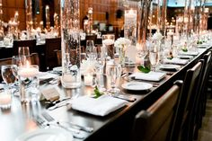 Cool Green & Shady - Hart House Wedding