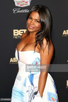 Actress Nia Long arrived to the 2016 American Black Film Festival Awards Gala - Arrivals at The Beverly Hilton Hotel on February 21, 2016 in Beverly Hills, California.