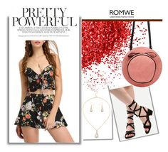 """""""ROMWE 9/9"""" by melissa995 ❤ liked on Polyvore"""