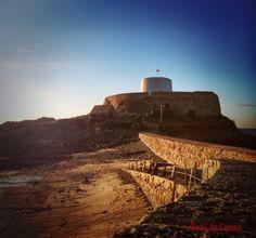 Fort Grey, Guernsey's East Coast (Vignette variant)