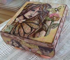 My Art Journal: altered cigar box
