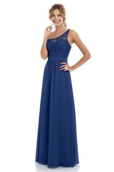 Style 224L Bridesmaid Dress by Alexia Designs in Royal