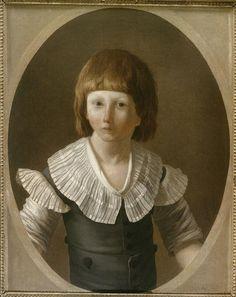 Joseph Marie Vien, le Jeune | Louis XVII (1785-1795) à la prison du Temple | Images d'Art