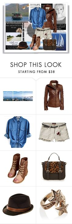 """""""where is the next adventure..."""" by gul07 ❤ liked on Polyvore featuring Elementem Photography, Danier, Scotch & Soda, HTC, Wildfox and Ray-Ban"""