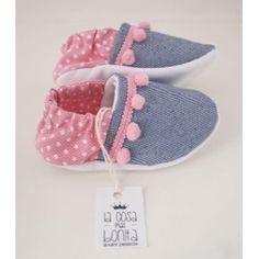 Resultado de imagen para como hacer zapatos para bebe con tela de jeam