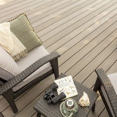 Order up to five free samples of TimberTech decking, railing, porch or pavers to get an accurate sense of our advanced composite materials, textures & colors. Outdoor Spaces, Outdoor Chairs, Outdoor Living, Cedar Furniture, Outdoor Furniture Sets, Composite Deck Railing, Timbertech Decking, Mahogany Decking, Deck Colors