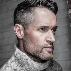14 best hairstyles for older men images  grey hair men