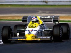 A Williams FW 09 in 1984.