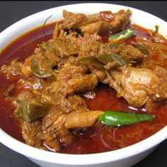 Check out recipe for chicken nizami