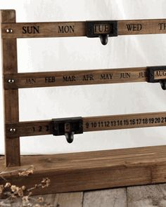 Perpetual Calendar from save on crafts