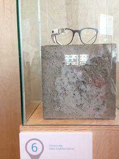 "At Google I/O Conference 2014, Diane Von Furstenberg's ""fashion"" Google Glass"