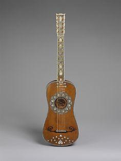 Guitar Attributed to Matteo Sellas (German, Füssen ca. 1599–1654 Venice)