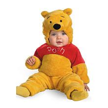 Winnie the Pooh Winnie Deluxe Two-Sided Plush Halloween Costume - Infant Size 12-18 Months