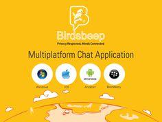 #BirdsBeep - Multiplatform Mobile #Chat Application