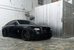 ⚫️ Black #dadriver #RollsRoyce #Wraith @rollsroycecars