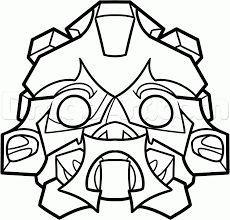 Transformers Masken And Vinyl On Pinterest
